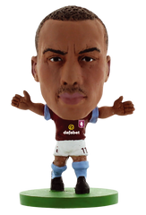Aston Villa - Gabby Agbonlahor Home Kit (2015 version)