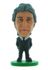 Man City - Manuel Pellegrini (suit)