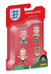 England (EURO) - 4 Player Blister Pack A