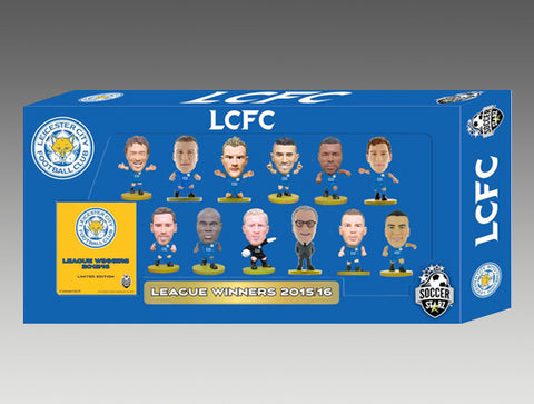 Limited Edition Leicester City 2015/2016 League Winners Team Pack!