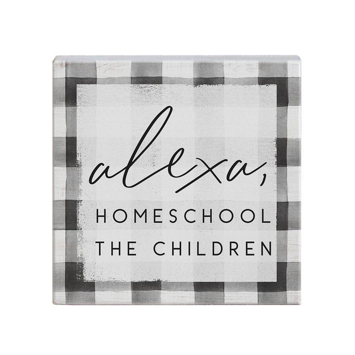 Alexa Homeschool Small Talk Square