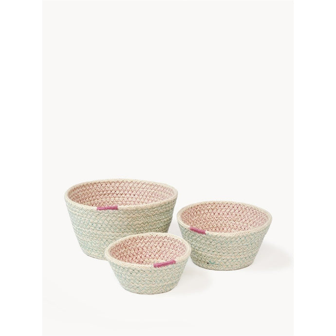 Amari Bowl - Pink (Set of 3)
