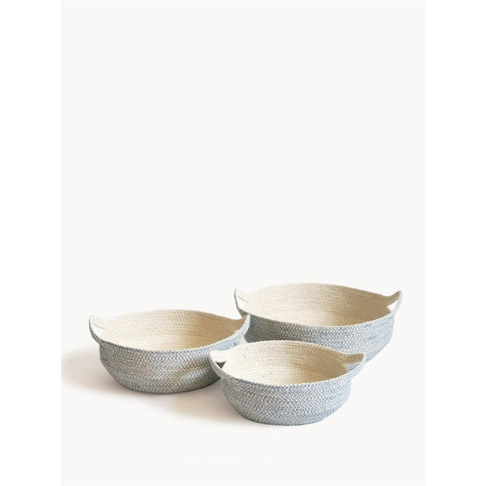 Amari Fruit Bowl - Blue (Set of 3)