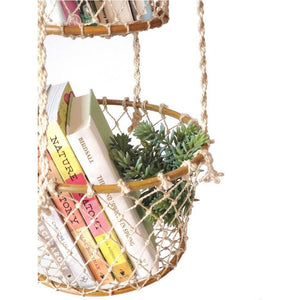 Double Hanging Basket