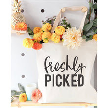 Load image into Gallery viewer, Freshly Picked Canvas Tote Bag