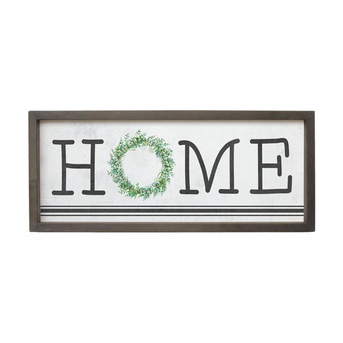 Home Wreath Farmhouse Frame