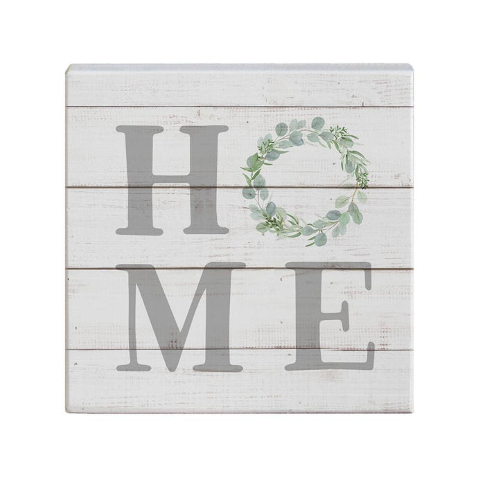 Home Wreath Small Talk Square