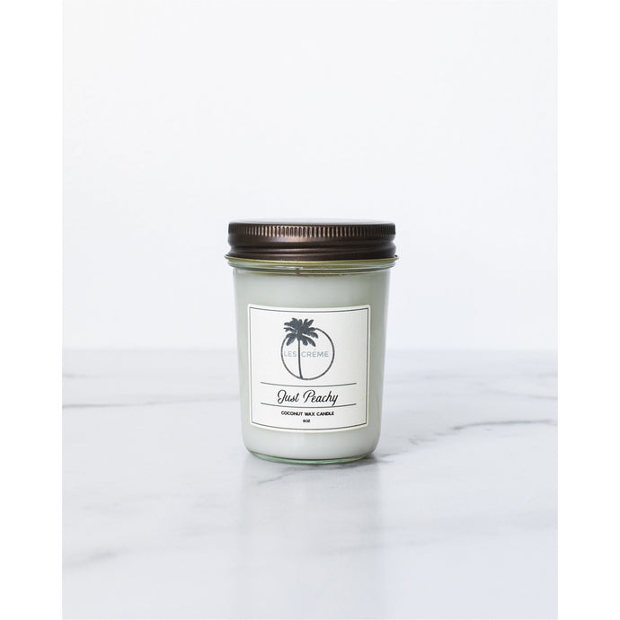 Just Peachy Coconut Wax Candle