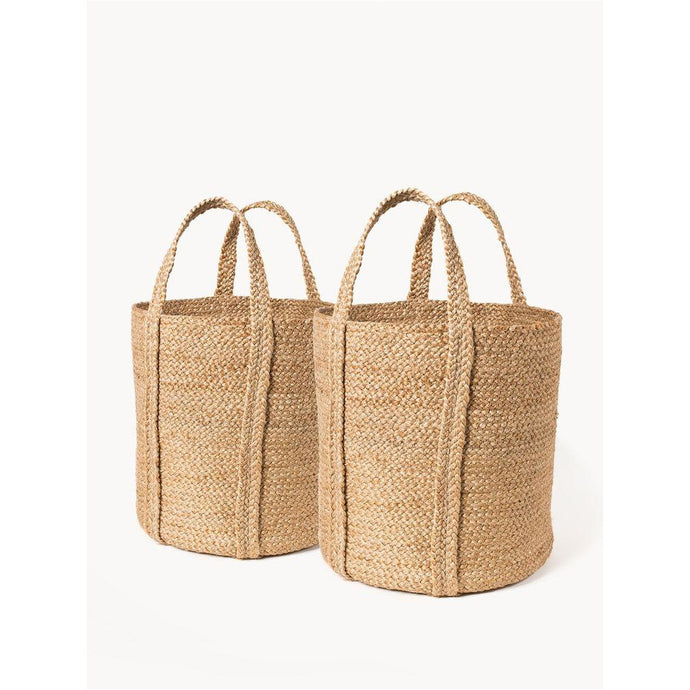 Kata Basket with Handles - Natural (Set of 2)