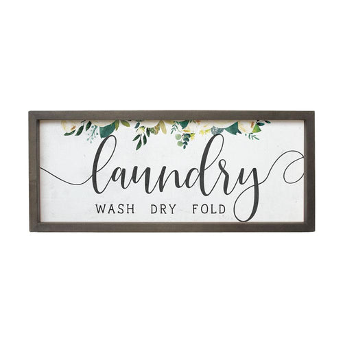Laundry Farmhouse Frame