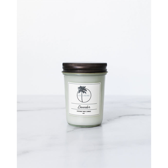 Lavender Scent Coconut Wax Candle
