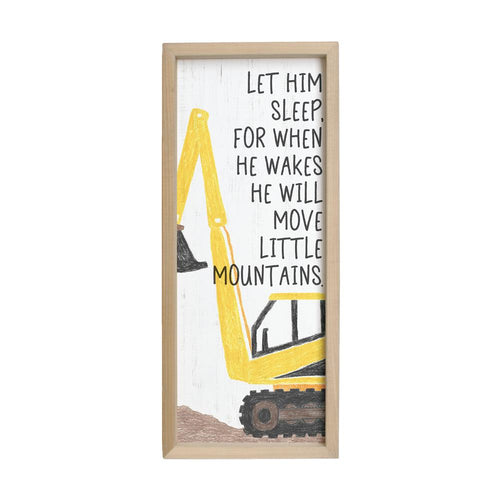 Let Him Sleep Farmhouse Frame