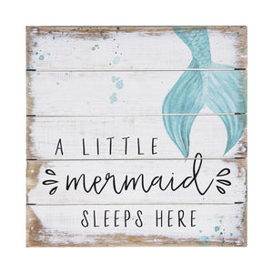 Little Mermaid Sleeps Pallet Petite