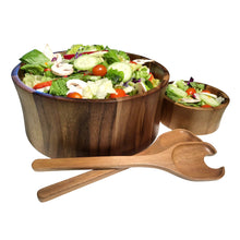 Load image into Gallery viewer, Maribo Large Salad Bowl with Servers