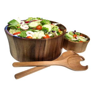 Maribo Large Salad Bowl with Servers