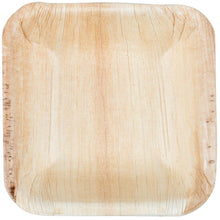 "Load image into Gallery viewer, Palm Leaf Square Bowl 3.5"" Inch Mini (25 count)"