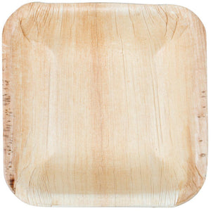 "Palm Leaf Square Bowl 3.5"" Inch Mini (25 count)"