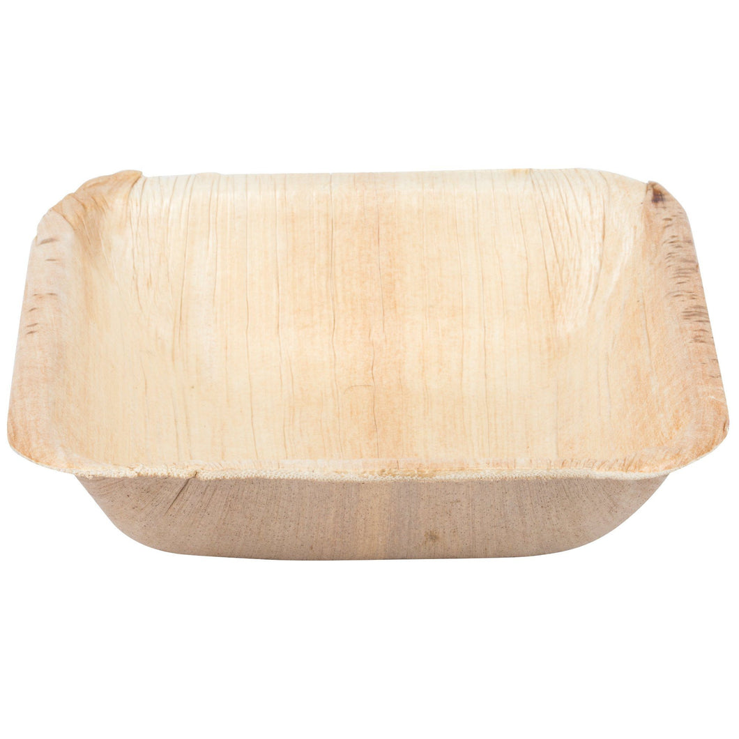 Palm Leaf Square Bowl 3.5