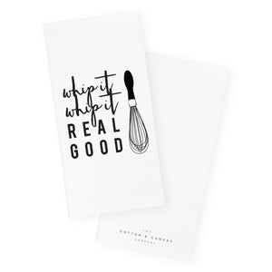 Whip It, Whip It Real Good Kitchen Tea Towel