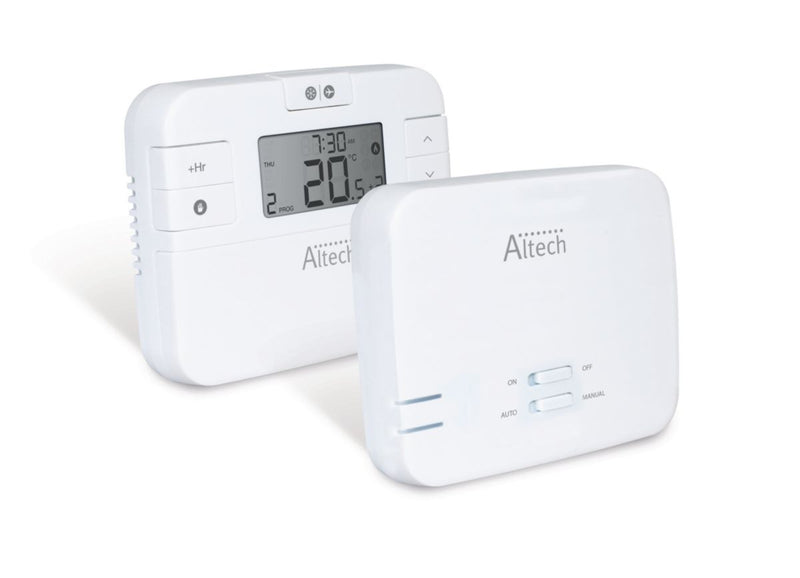 Thermostat ALTECH programmable hebdomadaire Réf. ALTHC014i RF - Besoin D'Habitat