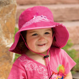 Hat Crocodile Girls Pink
