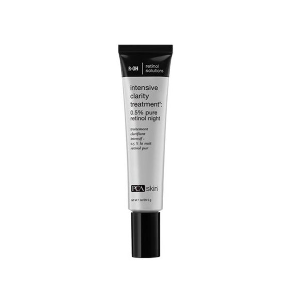 Intensive Clarity Treatment: 0.5% pure retinol night