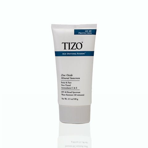 Tizo Age Defying Fusion Body/Face SPF 40 Water Resistant (40 minutes) Mineral 100g/3.5 oz