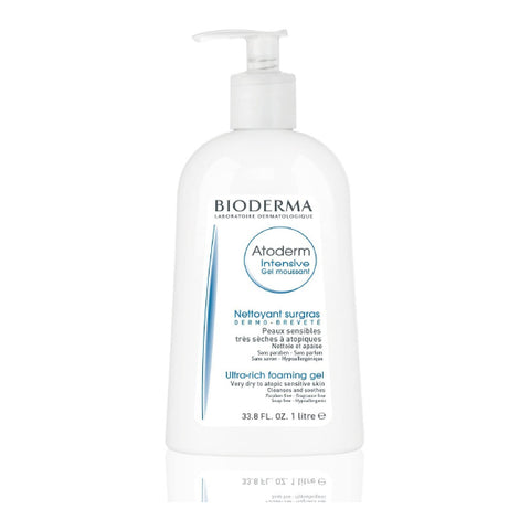 Atoderm Gel Moussant Ultra soothing foaming gel 1000ml
