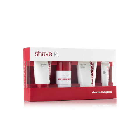 Dermalogica Shave Kit (daily clean, shave cream, pre shave guard, post-shave balm)