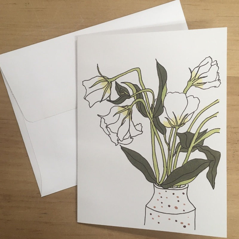 Local Lisianthus Card