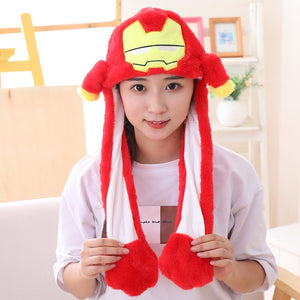 Various styles Cute Rabbit Hat with light Funny Air Float