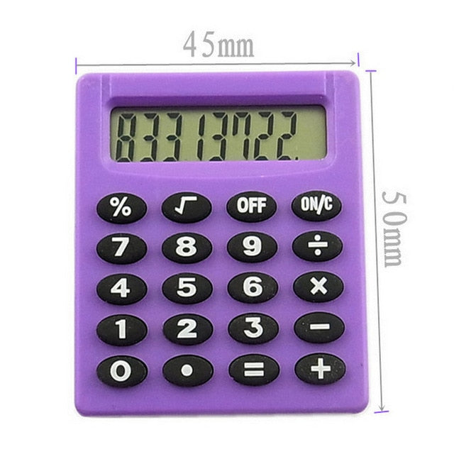 Boutique Stationery Small Square Calculator Personalized Mini Candy Color School & Office Electronics Creative Calculator