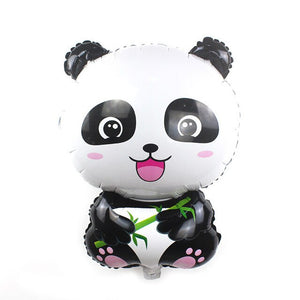 Large Size 3D Bear Panda Dinosaur Donut Cartoon Animal Party Toys Balloons