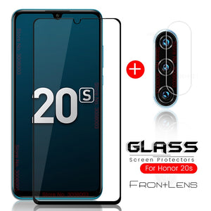 2-in-1 honor 20s protective glass for huawei honor 20s xonor 20 s camera glass honor20s mar-lx1h 6.15'' tremp protection film 9h