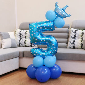 1set cute Birthday Balloons