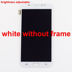 For Samsung Galaxy J7 2016 LCD J710 SM J710F J710FN J710M J710H J710A DS LCD Display + Touch Screen Digitizer Assembly Frame