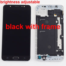 Load image into Gallery viewer, For Samsung Galaxy J7 2016 LCD J710 SM J710F J710FN J710M J710H J710A DS LCD Display + Touch Screen Digitizer Assembly Frame