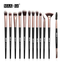 Load image into Gallery viewer, MAANGE Pro  3/5/12 pcs/lot  Makeup Brushes Set