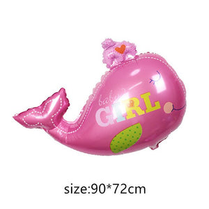 baby foil Balloons Birthday Party Decorations air balls Girl Boy Birthday balloons Helium balloon party supplies cartoon hat