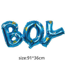 Load image into Gallery viewer, baby foil Balloons Birthday Party Decorations air balls Girl Boy Birthday balloons Helium balloon party supplies cartoon hat