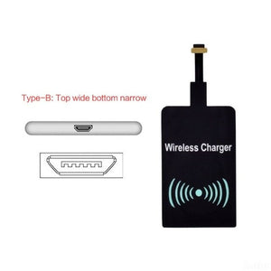 New QI Wireless Charger Receiver Wireless Charging Pad Coil for Huaweip30 iPhone XR Samsung S10 LG G7 V30 HTC one Nokia xiaomi