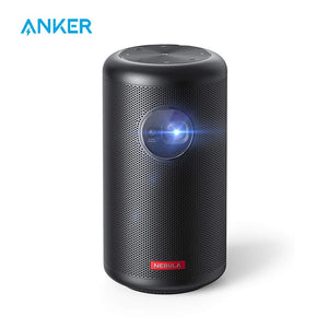 Anker Nebula Capsule Max, Pint-Sized Wi-Fi Mini Projector, 200 ANSI Lumen Portable Projector, 4-Hour Video Playtime