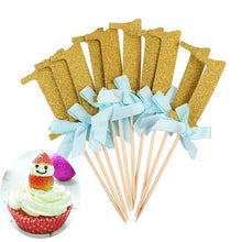 Load image into Gallery viewer, 10pcs/Set Girl Birthday Party Cake Decoration Toys Hat Children Party Toy