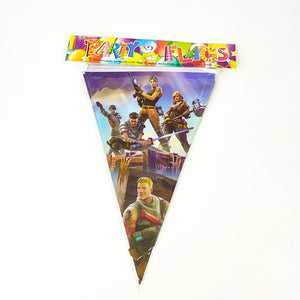 Fortnite birthday decoration supplies tableware