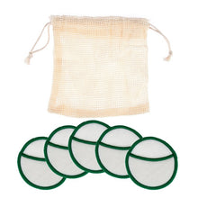 Load image into Gallery viewer, 5/8/16Pcs Reusable Bamboo Cotton Reusable Makeup Remover Pads