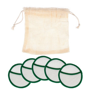 5/8/16Pcs Reusable Bamboo Cotton Reusable Makeup Remover Pads