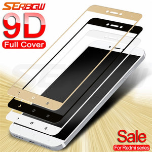9D Tempered Glass on For Xiaomi Redmi Note 4 4X 5 5A Pro Screen Protector Safety Glass on the Redmi 4X 5A 5 Plus Go S2 Film Case