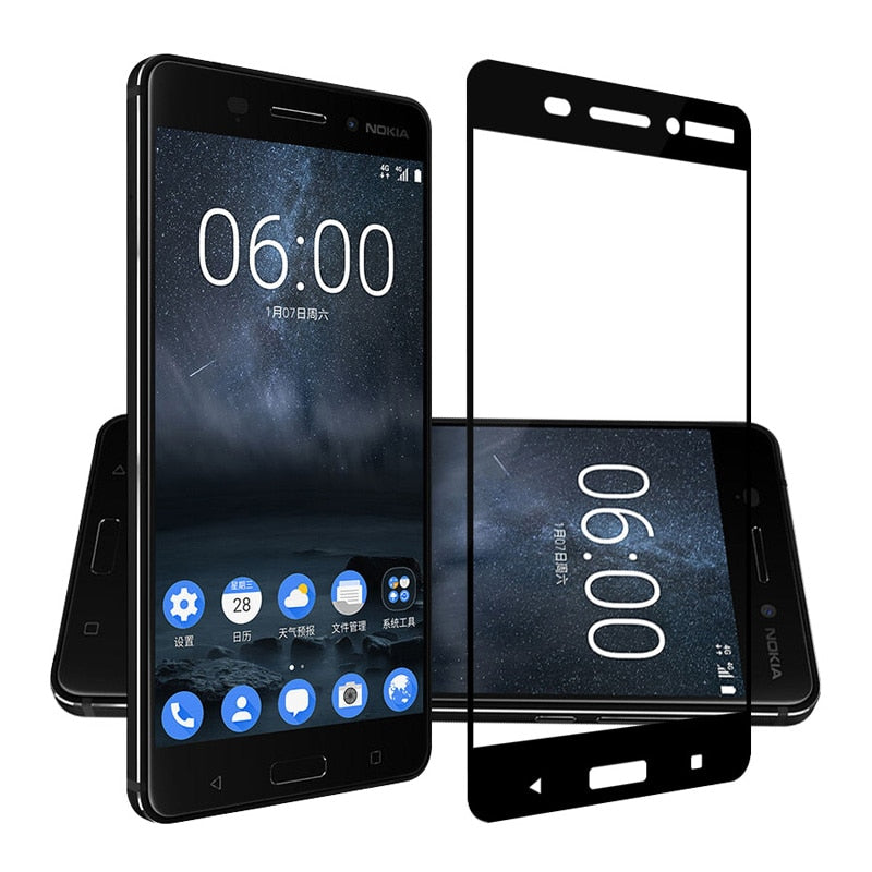 Glass for Nokia 2.2 3.2 4.2 7.2 5.1 Plus 3 5 6 8 7 Plus Glass Screen Protector Tempered Glass For Nokia 2.2 Toughened Glass Film