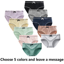Load image into Gallery viewer, 5 Pcs/Lot Girls Cotton Underwear