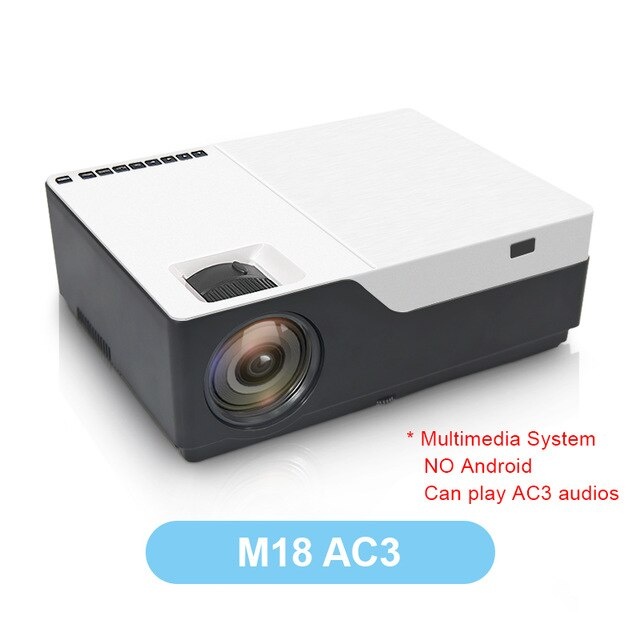 TouYinger M18 Projector 1080p resolution 5500Lumen , Android AC3 option , LED video Projector Home Theater Full HD Movie Beamer